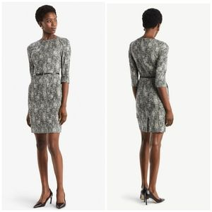 MM. LAFLEUR Etsuko Dress Crackle with Belt
